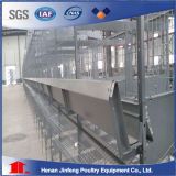 L'usine directe assurent 3-8 le type des rangées H cage d'oiseau de cage de bétail de matériel de volaille de cages de pose de poulet à vendre