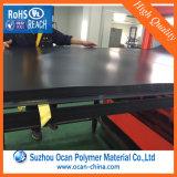 1,0 mm 1,5 mm Negro Matt PVC lámina rígida para la cubierta protectora