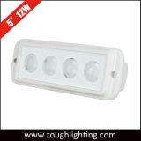 5 дюйма 12W белый КРИ LED фонарь рабочего освещения морской среды