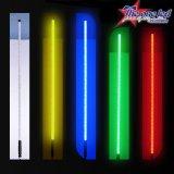 Un colore dei 6 piedi che cambia la frusta del LED con a distanza senza fili completa con la versione rapida ed il fusibile in-linea