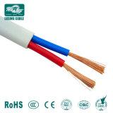 2x1,5 2X2.5 2X4 de cabo elétrico plana/PVC Twin e cabo de massa