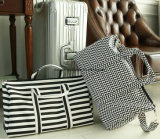 شباب تصميم [بورتبل] كبيرة قدرة سفر حقيبة حقيبة, نيلون متأمّلة عمليّ حقيبة/حامل متحرّك حقيبة مع قابل للتعديل كتف حزام سير