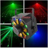 Лазер + строб + освещение СИД 3in1 DJ для партии случая диско