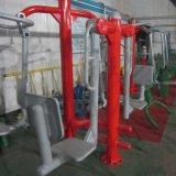Equipo al aire libre de la aptitud del producto del TUV de la prensa de la pierna