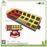 Academia de trampolim, Trampolins com espuma Pit de blocos para venda