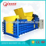 Les déchets de papier horizontal semi-automatique La presse et la mise en balles/Emballage/Presse hydraulique machine