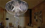 Candelabros de cristal Om930 da decoração do casamento da luz de vidro por atacado do pendente do preço de fábrica
