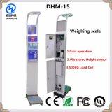 Münzenschuppe der gewicht-Höhen-BMI