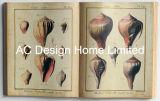 海事PU Leather/MDFの木の本の形の壁の芸術