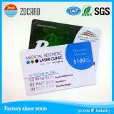Lf prestampato, HF, plastica di frequenza ultraelevata o schede di chip del documento