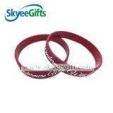 Wristband su ordinazione promozionale del silicone di Debossed del camuffamento