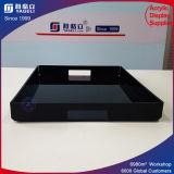 Plateau acrylique de nourriture de service de plateau acrylique de ventes de fournisseur de la Chine