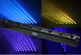 licht van de Staaf van de LEIDENE 8*10W RGBW4in1 Straal van het Pixel het Bewegende/het Licht van de Straal