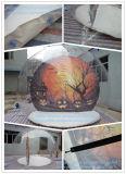 Globo gonfiabile trasparente della decorazione di festa