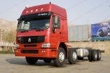 Euro2 371HP HOWO 6X2のトラクターのトラックのSinotrukのトレーラーかタクシーヘッド