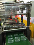 Tampa do copo de plástico e a bandeja máquina de termoformação