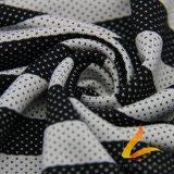 Tela elástico hecha punto de Lycra del Spandex del poliester para la aptitud de la ropa de deportes (LTT-YLZJT5#)