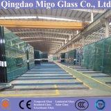 Architecturale Rang 19mm het Vlakke Duidelijke Blad van het Glas van de Vlotter