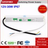 Konstante Schaltungs-Stromversorgung IP67 der Spannungs-12V 30W LED wasserdichte