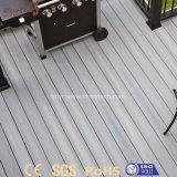 緑の屋外WPCの木製のプラスチック合成の床のDeckingをリサイクルしなさい
