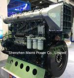 1135HP 1000rpmドイツの技術のYuchaiの海洋のディーゼル機関手前側にあるモーター