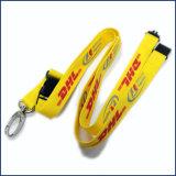 Polyester logo imprimé carte ID Porte-Badge Custom cordon pour cadeau de promotion