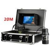 """360 graus giram a câmera subaquática do inventor dos peixes com 7 de """" cabo TFT LCD 20m"""