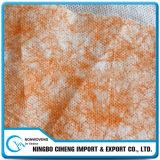 Chiffon non-tissé soufflé par fonte industrielle de nettoyage d'absorption de pétrole avec le filament
