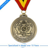 Medaglia di oro su ordinazione del metallo della tazza di calcio della Cina Northville