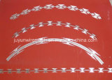 Singolo filo arrotolato galvanizzato del rasoio