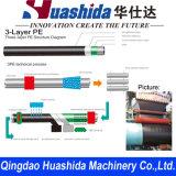 3PE linha de máquinas para fabricação de tubagens anticorrosão