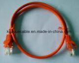 cabo do computador do cabo do cabo UTP de uma comunicação da rede de 8p8c RJ45 Utpcat6/Cable