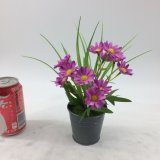 Искусственние цветки самонаводят заводы украшения Potted