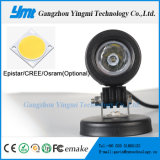 보편적인 플러드 반점 안개 램프 10W LED 둥근 일 빛