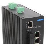 10 portas com 2 Gigabit SFP Industrial Ethernet Network Switch