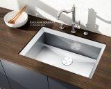 Fregadero-Solo tazón de fuente de la cocina hecha a mano