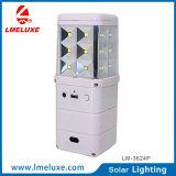 Sistema de iluminación solar recargable de múltiples funciones