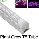 統合されるT5は完全なスペクトルLEDが軽い5W 9W 13W 18W 23W明確なカバーを育てる軽い実生植物を育てる