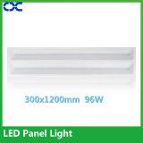 AluminiumDeckenverkleidung-Licht des lampen-Karosserien-Material-96W LED 300X1200