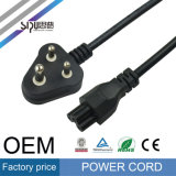 Sipu Indian Power Cord Plug Computer Câble électrique en PVC