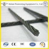 Cnm et 12,7 mm 15.24mm de diamètre de câble de tension de poste