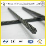 Cnm 12,7 mm e 15,24 mm Diâmetro Post Tension Cable