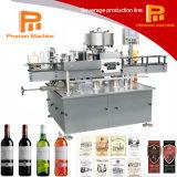 Máquina de etiquetado del vino/de la vodka/del whisky/de la botella de la bebida del Tequila/del alcohol