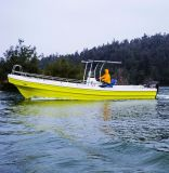 26 de panga-Stijl van de Glasvezel van de voet Vissersboot voor Vliegende Vissen