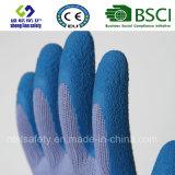 Перчатки латекса резиновый, перчатки работы безопасности отделки Sandy (SL-R502)