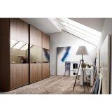 가정 가구를 위한 현대 디자인 3 미닫이 문 멜라민 옷장