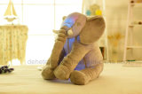 Creative Night Light LED Stuffed Animals Elephant Glow Peluches Jouets Cadeaux pour enfants de 20 pouces