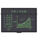 el cursivo de Ewriter de la tablilla 57inch completa a tarjeta de escritura del LCD de la pizarra