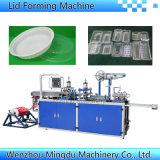 Plastikwegwerftellersegment, das Maschine bildet