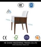 Hzdc176家具ベージュリネンアーム椅子